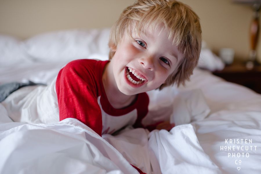 using natural light for child portraits