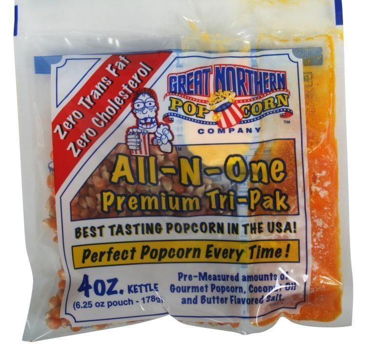 Great Northern 4-oz Popcorn Portion Packs