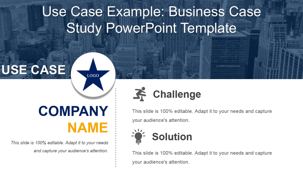 11 professional use case powerpoint templates to highlight your use case example business case study powerpoint template flashek Images