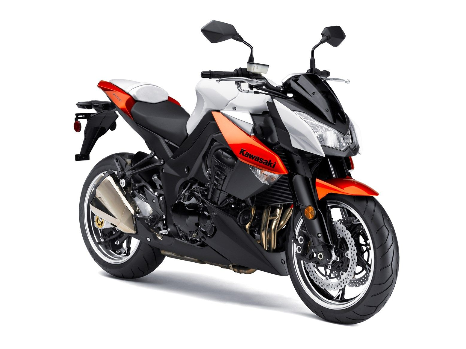 New Kawasaki Z1000 Gets New Engine And Chassis Con Imagenes