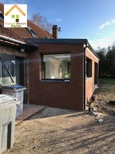 Extension de maison à Ennetieres-en-Weppes