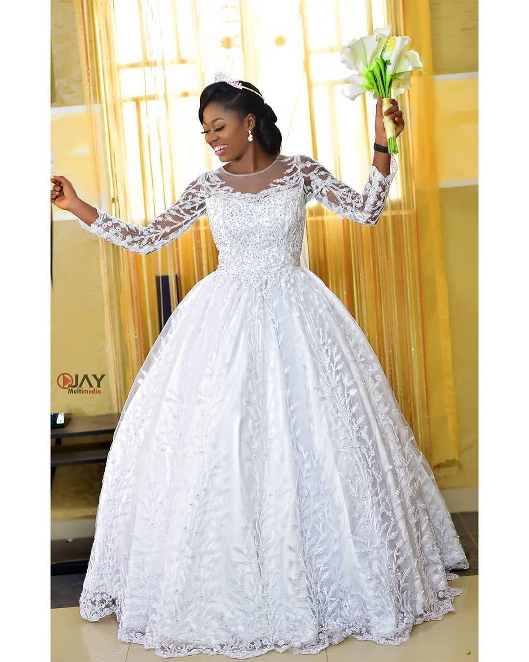 Nigerian Wedding Gown Styles In 2020 Latest Wedding Gowns Nigerian Wedding Dress Wedding Gown Shape