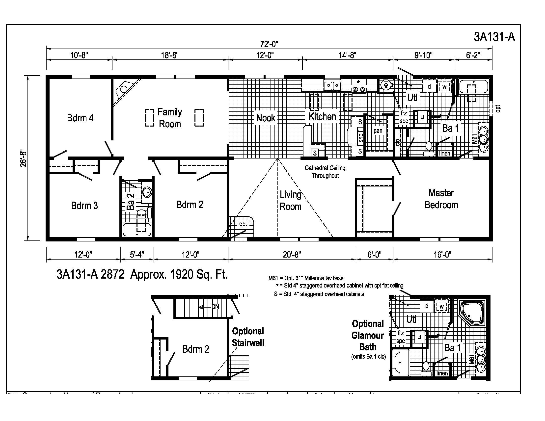 Astro ranch 3a131a midwest homes miscellaneous for Midwest living house plans