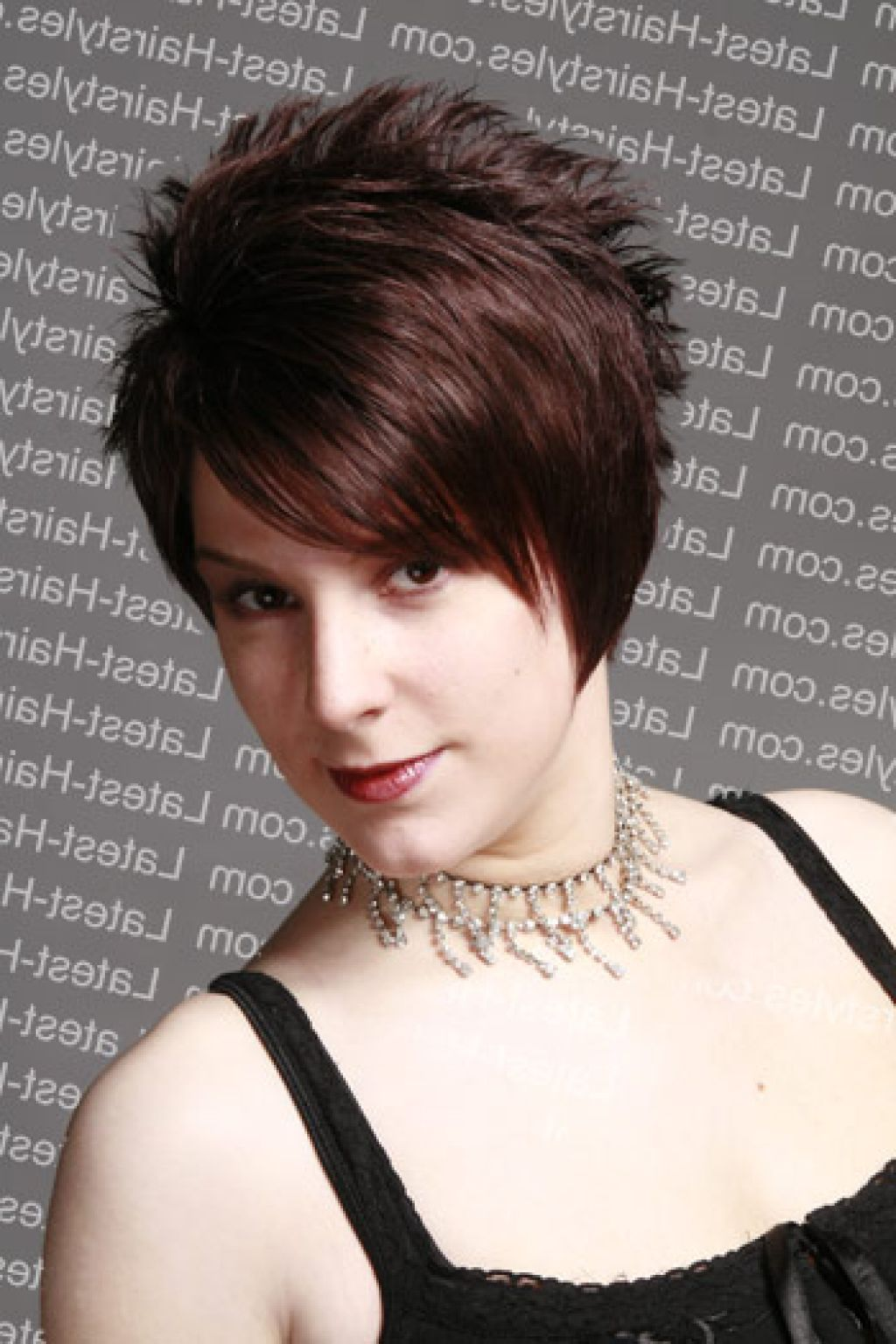 Short spiky hairstyles back view long front short back haircut
