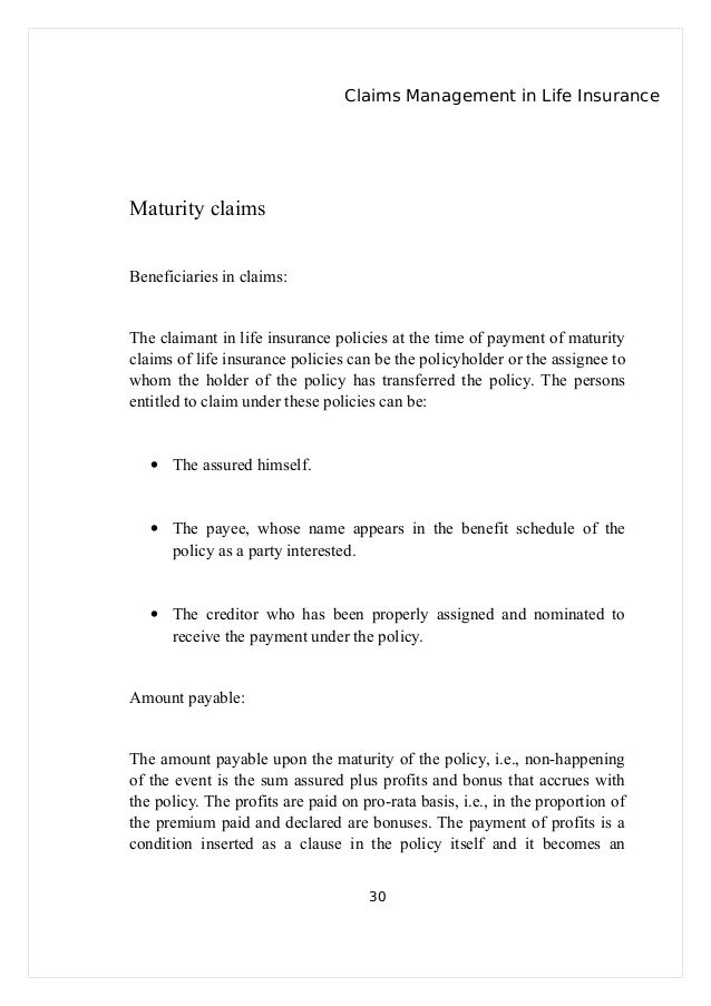 life insurance death claim letter how write intimation form Home - claims letter