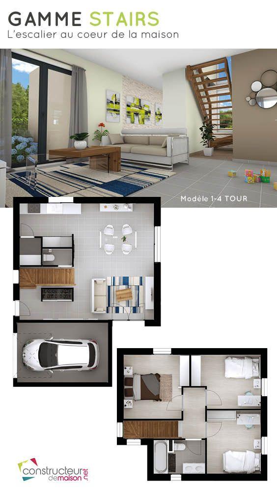 Gamme Stairs - Lu0027escalier au coeur de la maison Le modèle 1-4