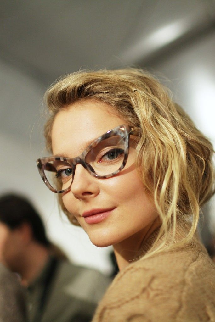 Backstage at Max Mara RTW Fall 2015  Photo by Kuba Dabrowski  Eyewear  Trends, ee03782701