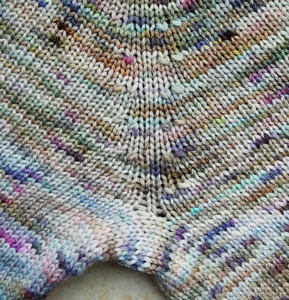 Схема вязания рукава реглан снизу фото 490