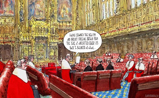 Unelected and unaccountable power UK votes to leave the