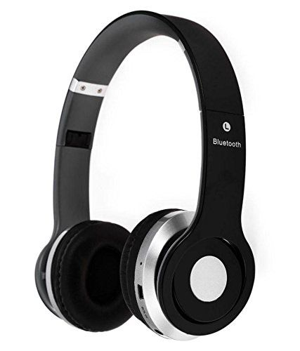 Micromax Canvas Devices Compatible Certified S450 Foldable On Ear Wireless Stereo Bluetooth Headphones Headset Supports Mp3 Fm Tf Card Rea Casque Audio Casque