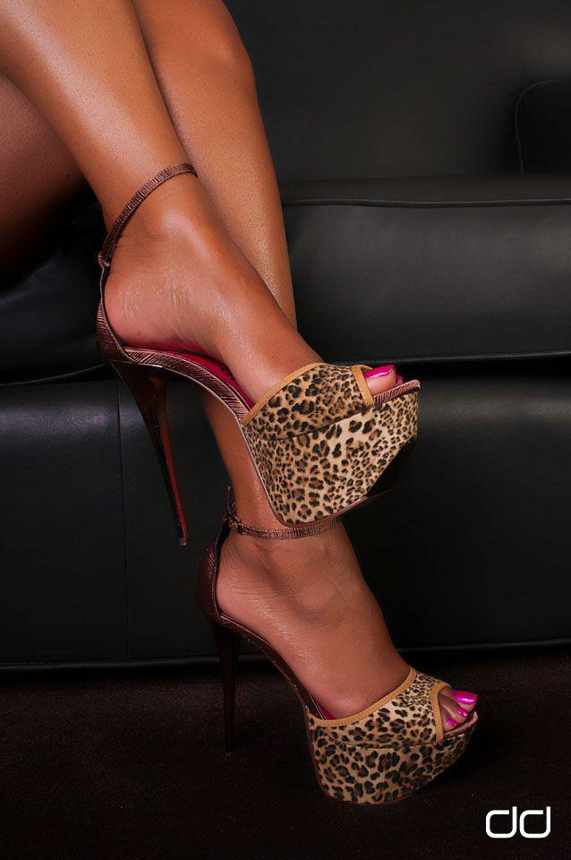 Ebony high heels