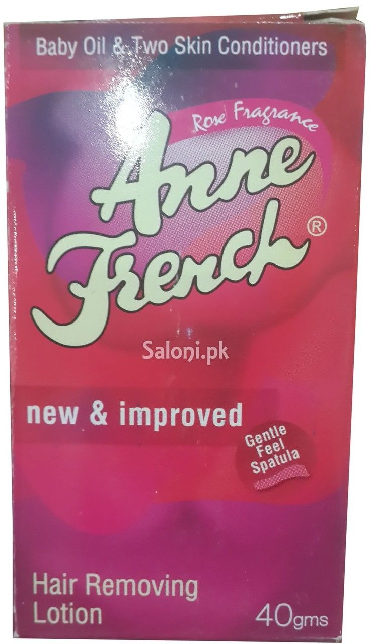 Anne French Rose Fragrance Hair Removing Lotion Hair Fragrance