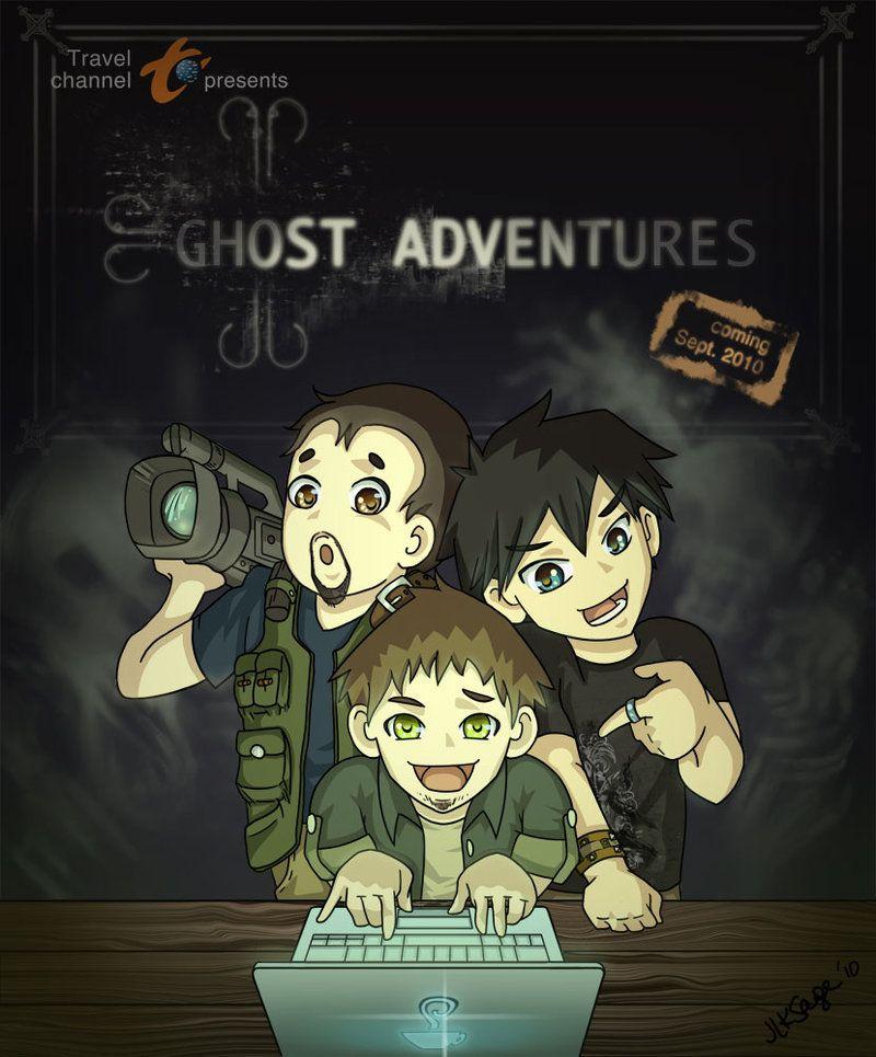 Aaron Nick Zak Cartoon Ghost Adventures