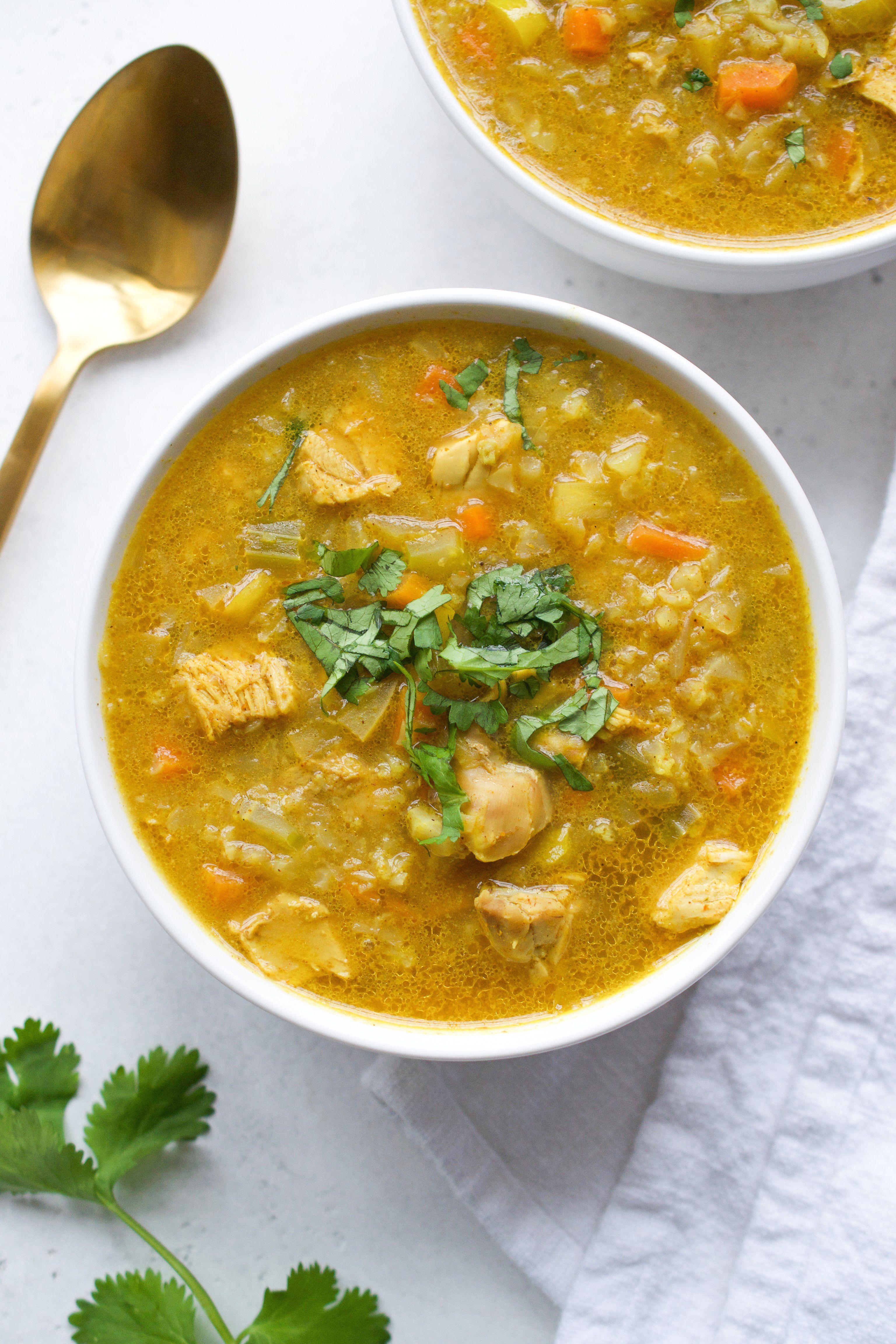 Turkey Mulligatawny Soup | Every Last Bite