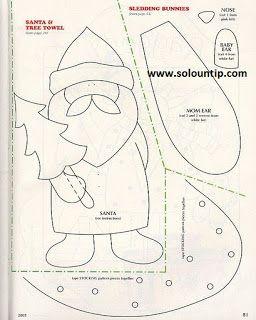 Apliques navideños ~ Solountip.com