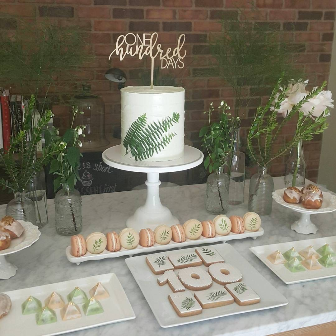 100 Days Hundred Dol Baby Cake Topper 3months Tradition Celebration Korean Asian Etsy Ngocreations Lasercut Dessert Table
