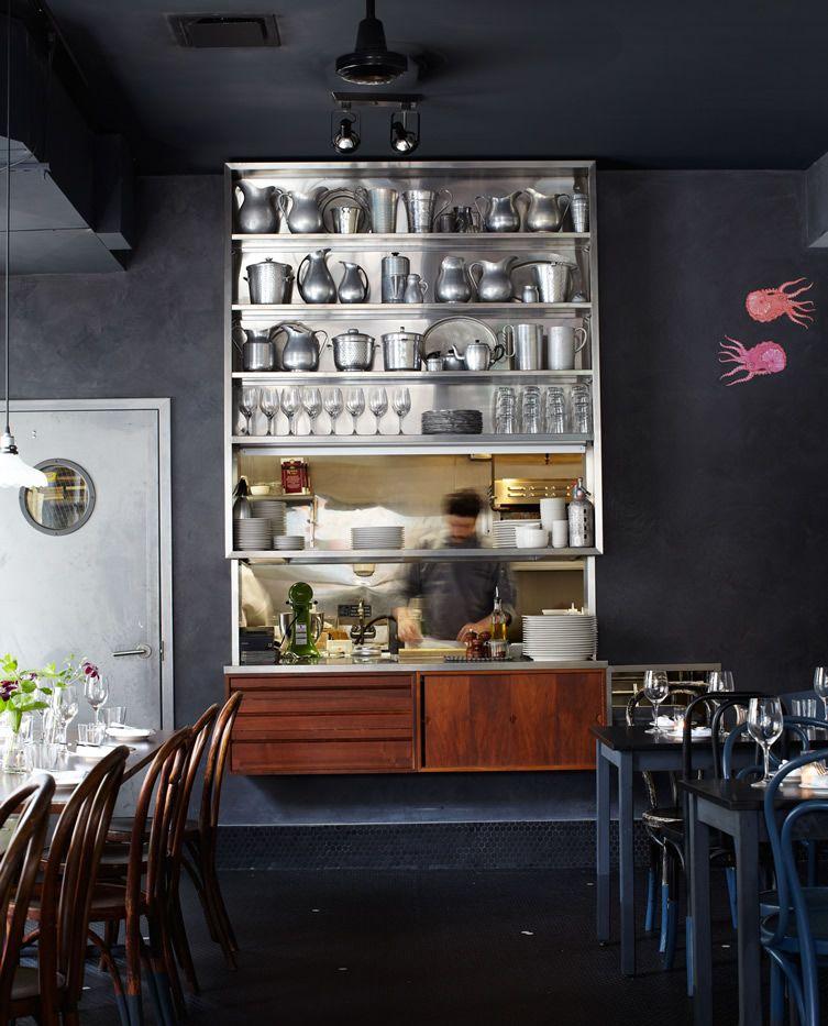 Restaurant Kitchen Pass: Restaurante Bar, Café Bar, Repisas De