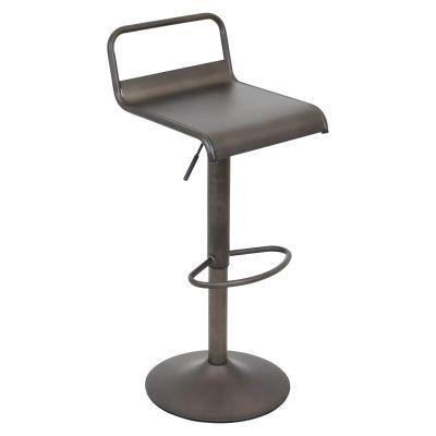 Emery Height Adjustable Barstool With Swivel Adjustable Bar Stools Swivel Bar Stools Modern Bar Stools