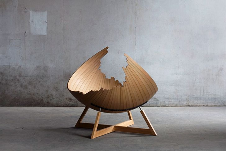Viking Inspired Barca Bench Fuses Furniture With Boat Building