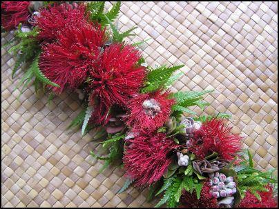 how to make a fern haku lei