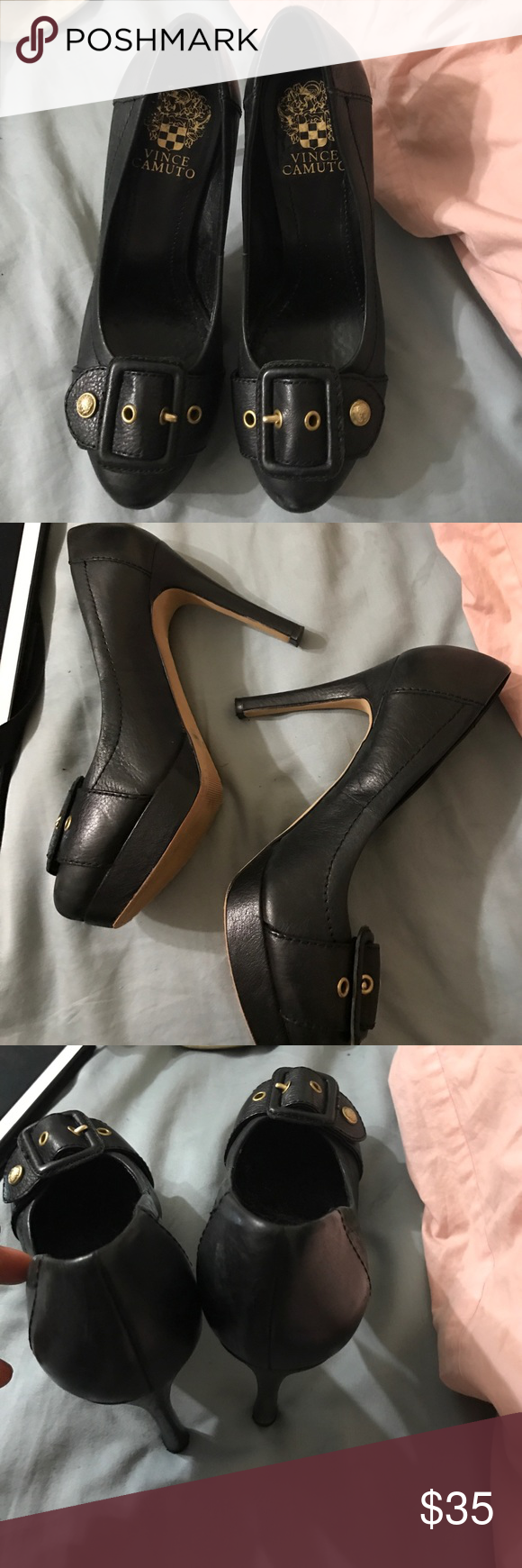 Vince Camuto Shoes Size 6.5 Vince Camuto Shoes Heeled Boots