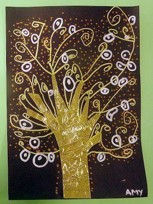 L'arbre de vie de Klimt en Grande section | Art plastique, Gustav ...
