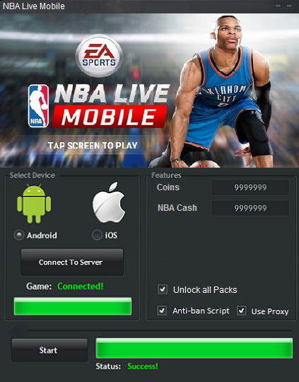 b84f916a GAME NBA LIVE MOBILE CHEATS, HOW TO HACK NBA LIVE MOBILE 17, NBA CASH HACK,  NBA COINS HACK, nba live 17 hack, nba live mobile coins hack, NBA LIVE  MOBILE ...
