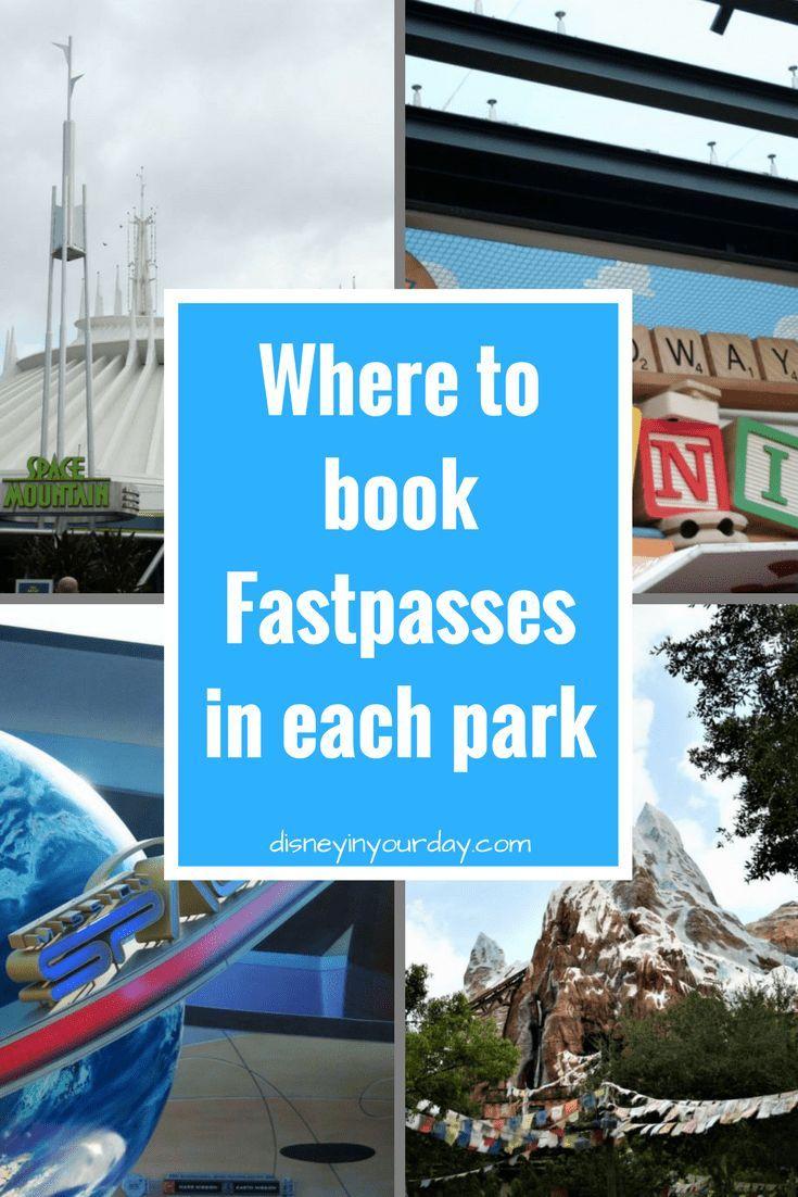 Welche Fastpässe soll ich in jedem Park buchen  Best of Disney in your Day