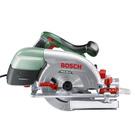 Scie Circulaire Bosch Pks 55 A 1200w 1 Lame Bois Scie