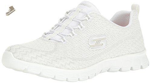 Skechers Sport Women S Ez Flex 3 0 Estrella Fashion Sneaker White 7 5 M Us Skechers Sneakers For Women Amazon Partner Sneakers Fashion Sneakers Skechers
