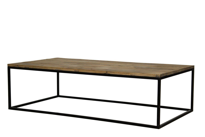 Industrial Rectangular Coffee Table Met Afbeeldingen