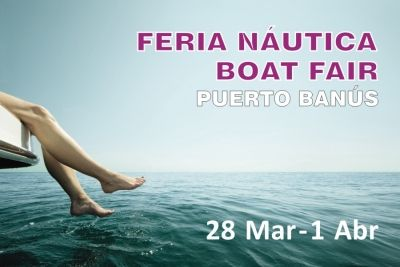 Mar 28 - Apr 1, 2013 the fifth pre-owned boat show will be held in the marina of Puerto José Banús. An estimated 100 boats, from 17 to 84 feet, are expected to be present at the show     This will be a great event for anyone looking for a good deal and great value for money, All boats will be in the water available for sea-trials. Take advantage of this opportunity and start your boating dream!  Tel: (+34) 952 777 098  Email: event@marinamarbella.net