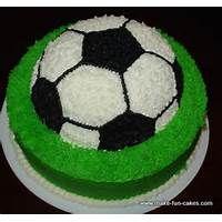 Easy Soccer Cake Ideas Soccer Cake Soccer Birthday Cakes Soccer Ball Cake