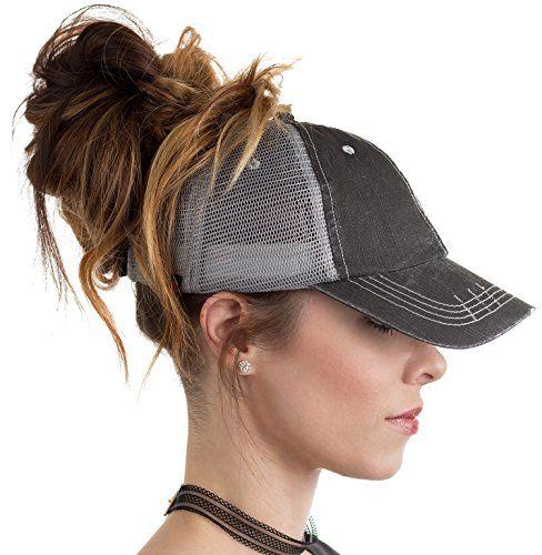 BOEKWEG ponytail hat. Fashionable hats made for ponytails...  578130dec519