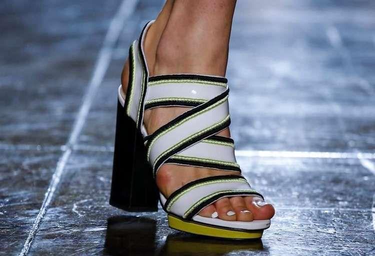 Scarpe Primavera Estate 2018, Milano Fashion Week Sandali