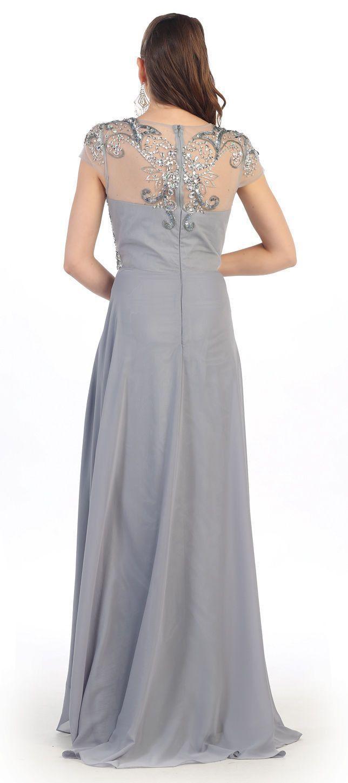 Long mother of the bride dress dresses pinterest formal