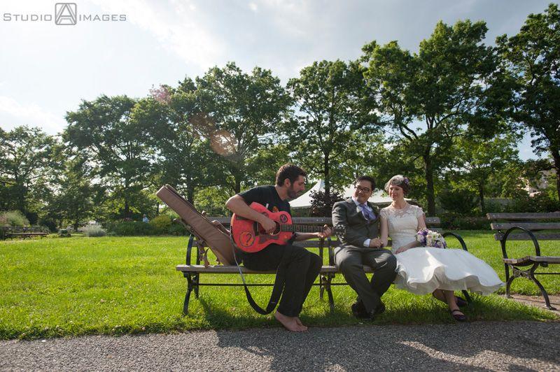 Queens Botanical Garden Wedding Photos | NYC Wedding Photographer | Studio  A Images