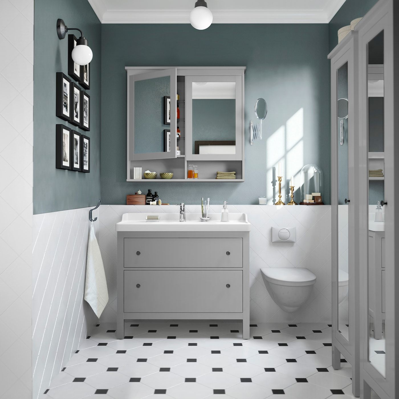 Elegantes Badezimmer In Hellen Farben Badezimmer Badezimmereinrichtung Badezimmer Einrichtung