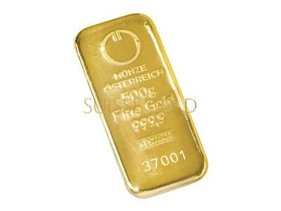Munze Osterreich 500 Gram Gold Bar