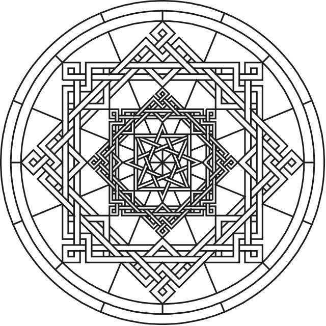 mandala flower coloring pages difficult - Google Search | Coloring ...