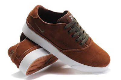 nike pepper low mens lifestyle casual shoes brown white