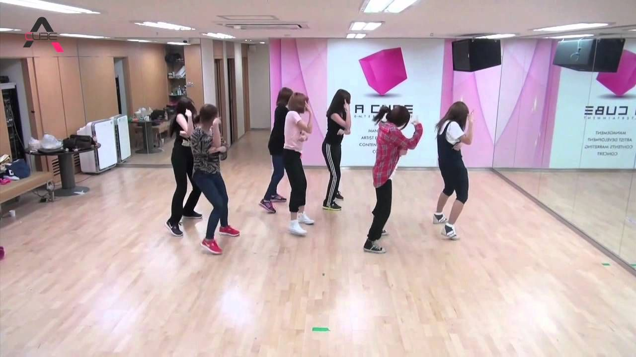 A Pink - Hush {Point Dance}