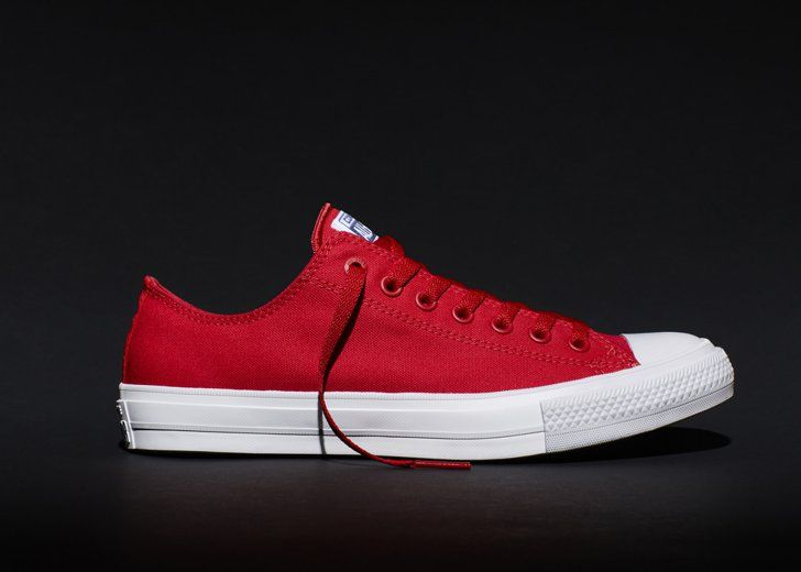 Pin for Later: If You Buy 1 Pair of Sneakers This Year, Make Them These  Chuck Taylor All Star II Low Top in Salsa Red ($70)