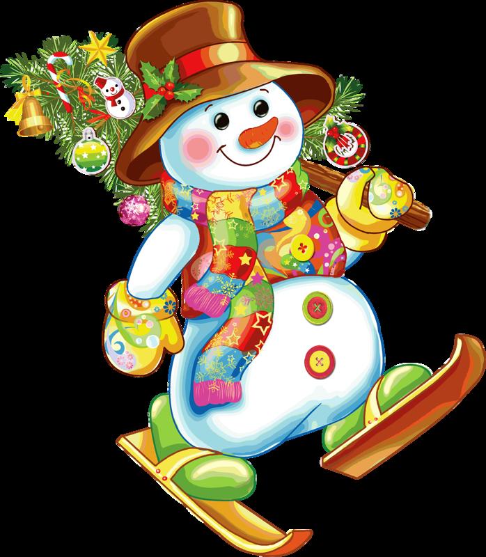 Днем рождения, детские картинки снеговичок