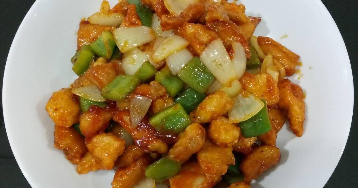 Resep Ayam Kuluyuk Asam Manis Oleh Dapur Cik Mungil Resep Resep Ayam Masakan Makanan Dan Minuman