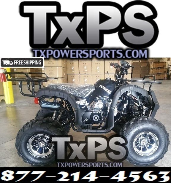 Cheap Atv For Sale >> Rps High End Raider 8 125cc Kids Atv W Upgraded Chrome Rims