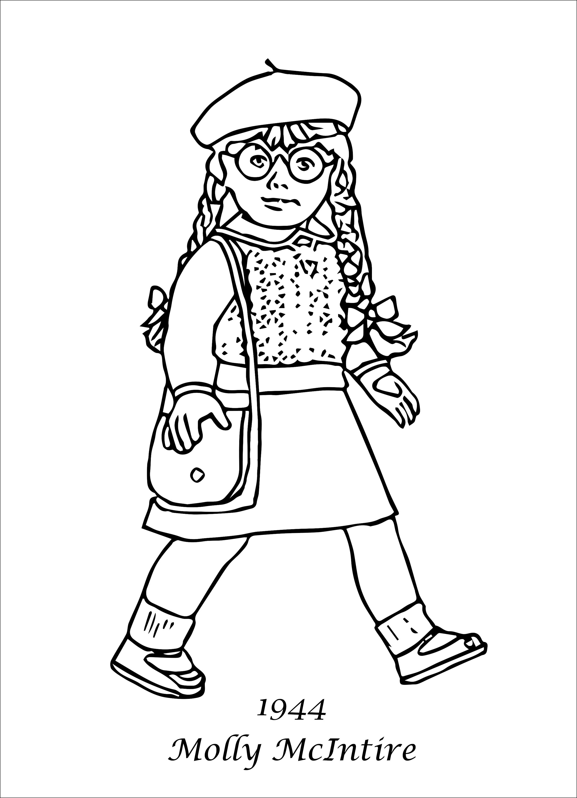 american girl coloring pages | american girl | coloring