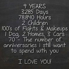 9 Years Today Online Mummy Co Uk Anniversary Wedding Anniversary Anniversary Gifts