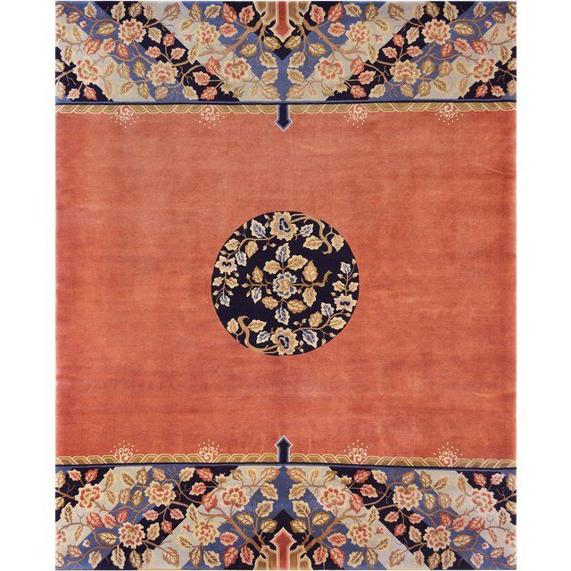 Mansour Fine Handmade Chinese Rug Image 1 Of 3