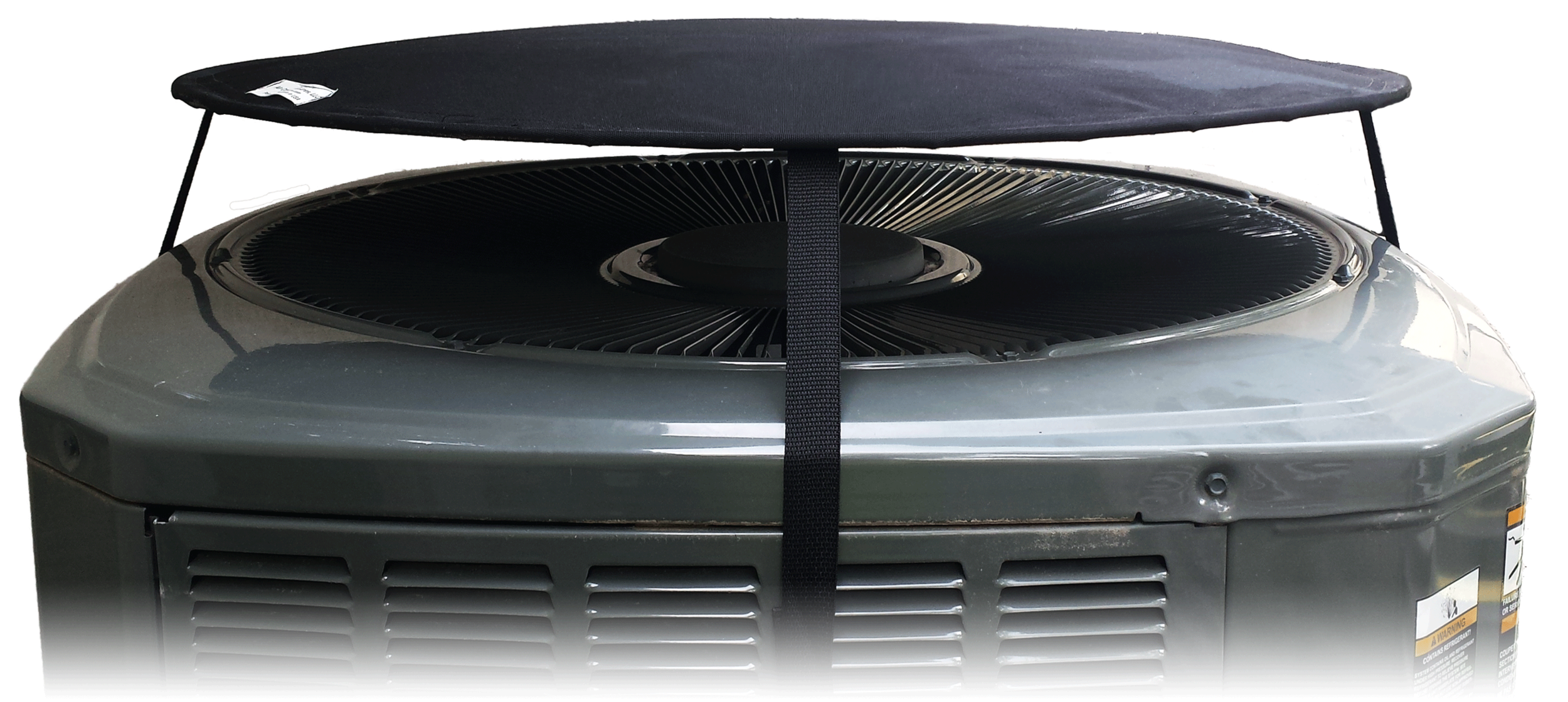 Hovcov Air Conditioner And Heat Pump Cover Floats Above Your Unit When Running As Air Vents Through The Openi Heat Pump Cover Air Conditioner Cover Heat Pump